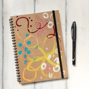 Journal- Floral Dots